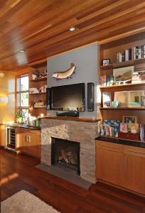 Seattle houseboats interior
