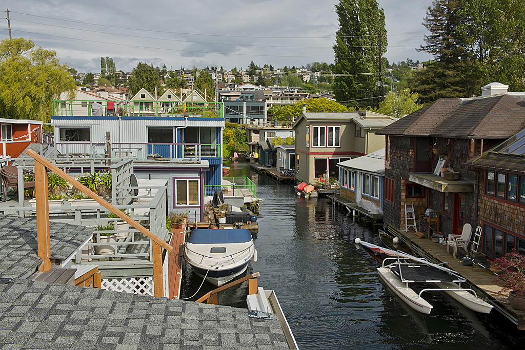 Seattle floating homes