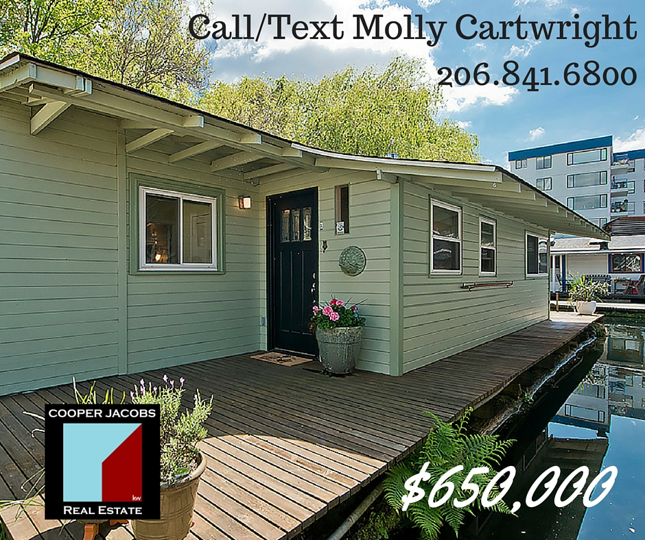 seattle houseboats for sale in eastlake
