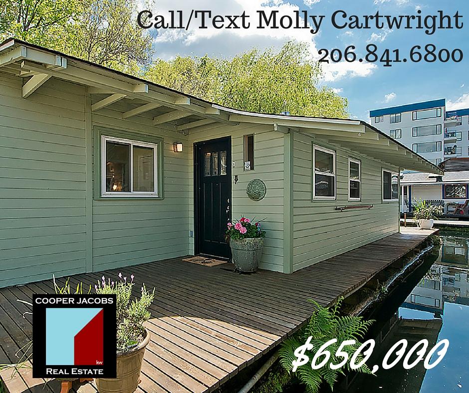 seattle houseboats for sale in eastlake