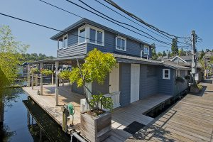 SOLD! Gorgeous Remodeled Floating Home With Open Views