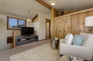 Portage Bay Floating Homes living room
