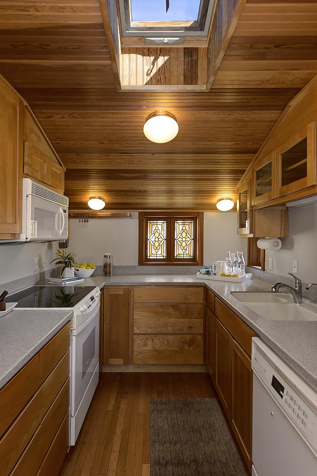Portage Bay Floating Homes Kitchen